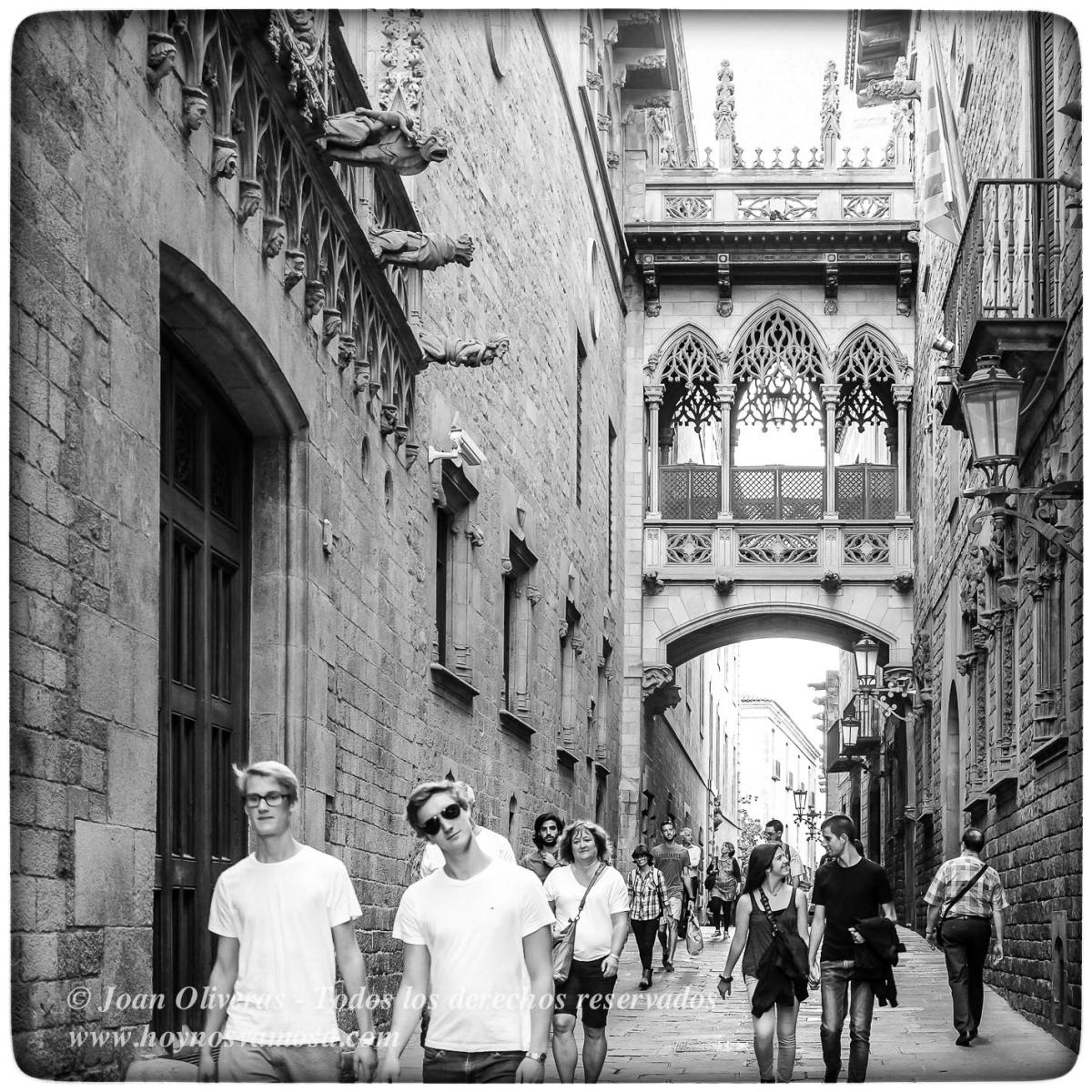 El puente de la calle del obispo