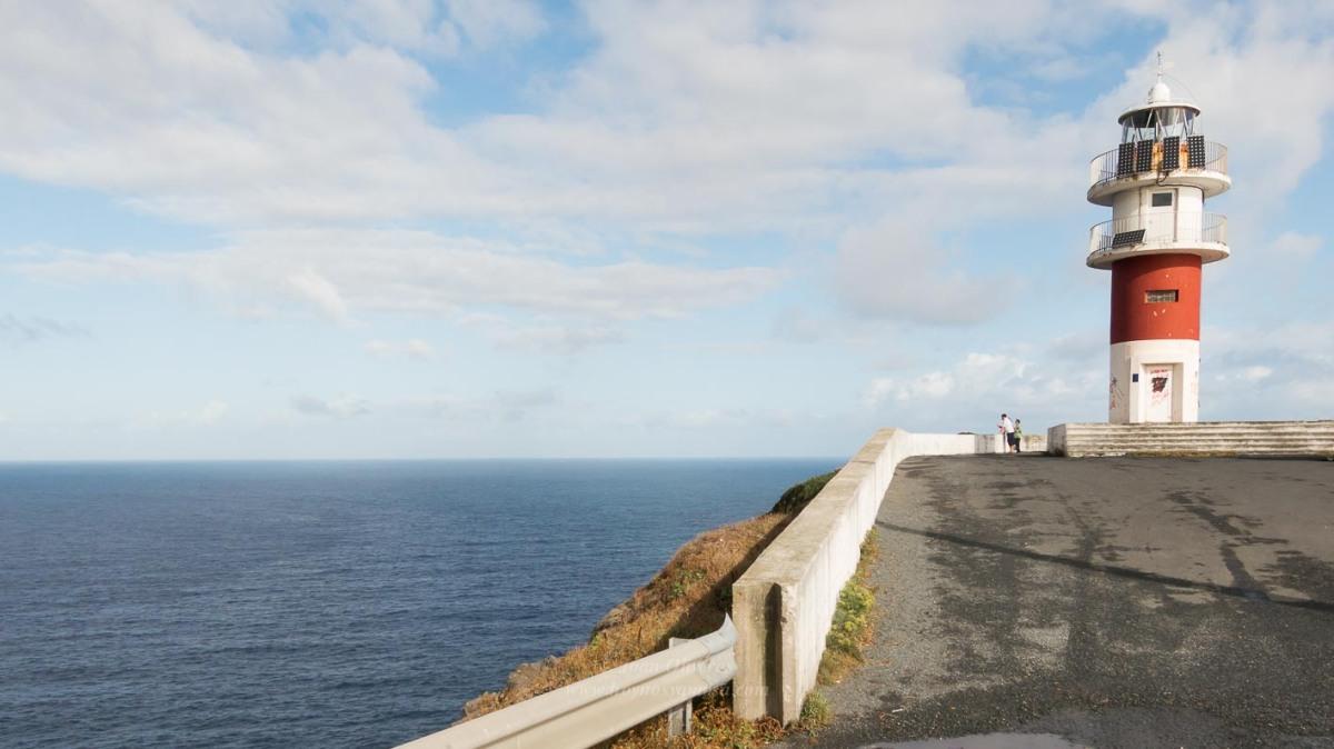 Cabo y faro Ortegal